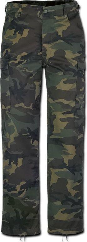 Brandit Brandit Spodnie Bojówki BDU US Ranger Woodland 6XL 1