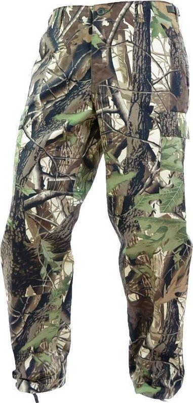 Mil-Tec Mil-Tec Spodnie BDU Wzmocnione Leśne Camo M 1