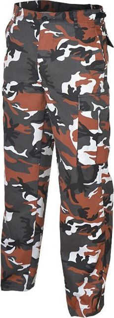 Mil-Tec Mil-Tec Spodnie BDU Ranger Red Camo XL 1