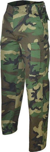 Mil-Tec Mil-Tec Spodnie BDU Ranger Woodland 3XL 1