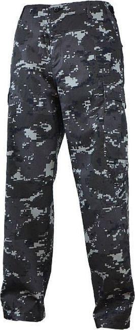 Mil-Tec Mil-Tec Spodnie BDU Ranger Black Digital S 1