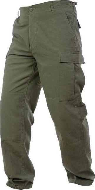 Mil-Tec Mil-Tec Spodnie BDU Rip-Stop Sprane Olive XXL 1