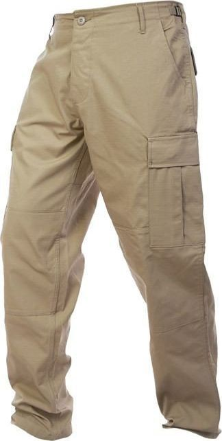 Mil-Tec Mil-Tec Spodnie BDU Rip-Stop Khaki S 1