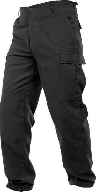 Mil-Tec Mil-Tec Spodnie BDU Rip-Stop Czarne S 1