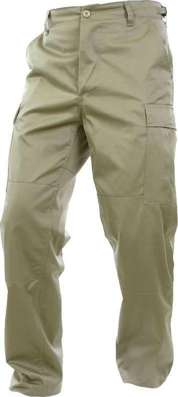 Mil-Tec Mil-Tec Spodnie BDU Wzmocnione Khaki S 1