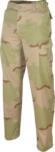 Mil-Tec Mil-Tec Spodnie BDU Ranger Desert 3-color S 1