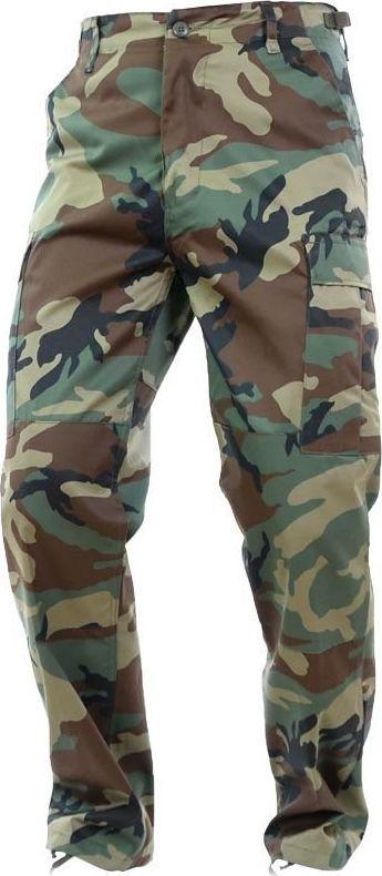 Mil-Tec Mil-Tec Spodnie BDU Wzmocnione Woodland XXL 1