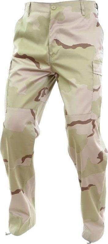 Mil-Tec Mil-Tec Spodnie BDU Wzmocnione Desert 3-color S 1