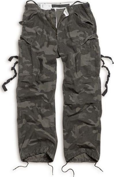 Surplus Surplus Spodnie M65 Vintage Black Camo XL 1