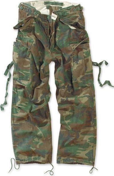 Surplus Surplus Spodnie M65 Vintage Woodland XL 1