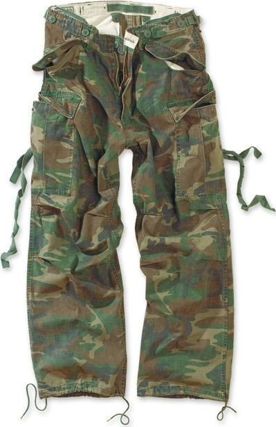 Surplus Surplus Spodnie M65 Vintage Woodland S 1