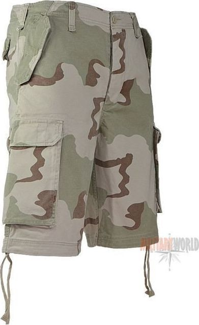 Mil-Tec Mil-Tec Szorty Bermudy Paratrooper Desert 3-color XL 1