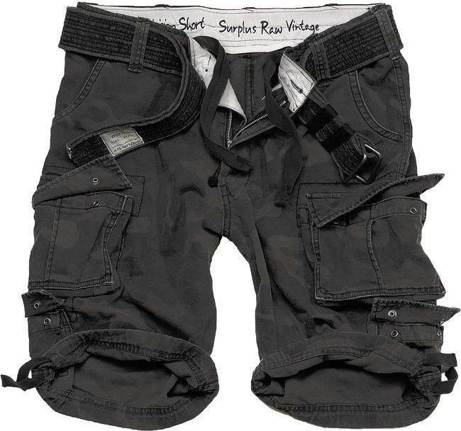 Surplus Surplus Szorty Division Black Camo XXL 1