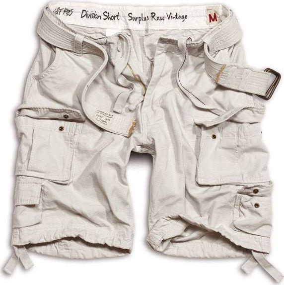 Surplus Surplus Szorty Division Białe 5XL 1
