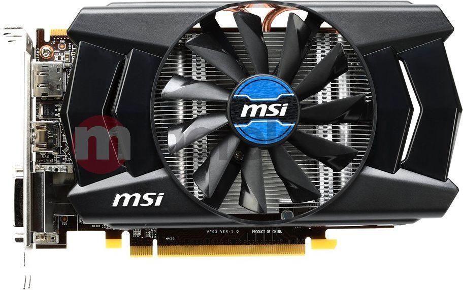 Karta graficzna MSI Radeon R7 260XOC 2GB DDR5 PCI-E 128BIT 2DVI/HDMI/DP BOX - R7 260X 2GD5 OC 1