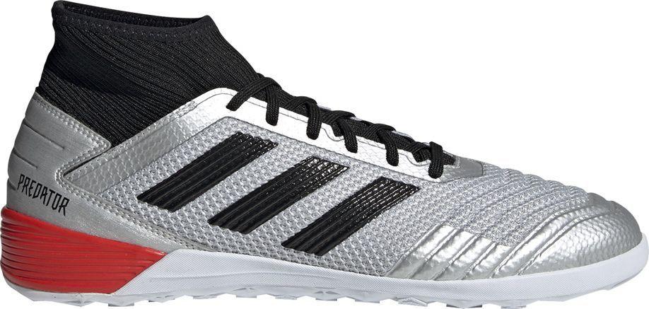 Adidas Buty piłkarskie adidas Predator 19.3 IN srebrne F35614 45 1/3 1