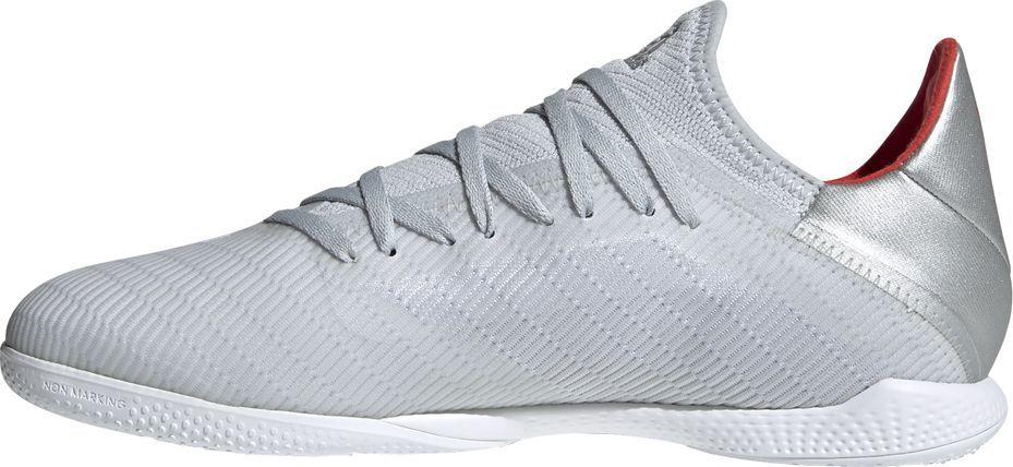 Adidas Buty piłkarskie adidas X 19.3 IN szare F35370 45 1/3 1