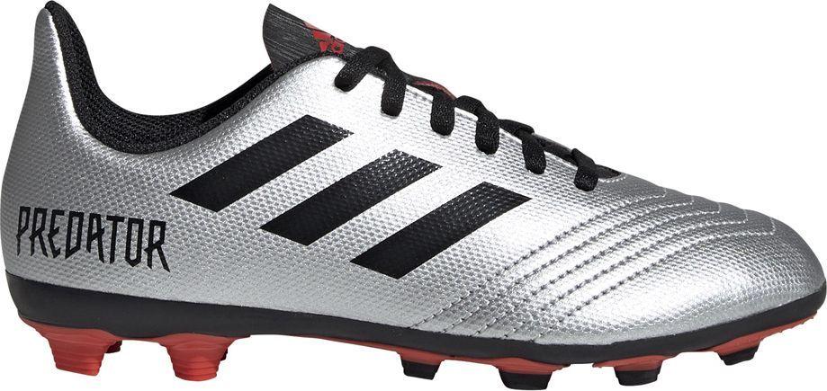 Adidas Buty piłkarskie adidas Predator 19.4 FxG JR srebrne G25822 37 1/3 1