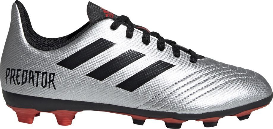 Adidas Buty piłkarskie adidas Predator 19.4 FxG JR srebrne G25822 38 2/3 1