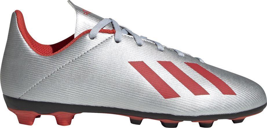 Adidas Buty piłkarskie adidas X 19.4 FxG JR srebrne F35362 37 1/3 1