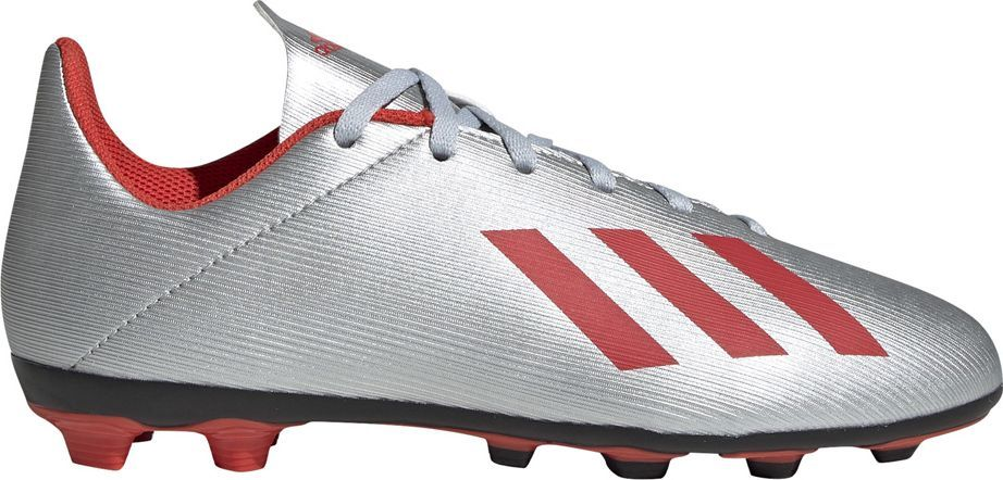 Adidas Buty piłkarskie adidas X 19.4 FxG JR srebrne F35362 38 2/3 1