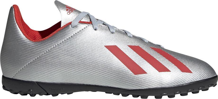 Adidas Buty piłkarskie adidas X 19.4 TF JR srebrne F35348 38 1