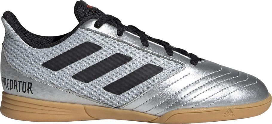 Adidas Buty piłkarskie adidas Predator 19.4 IN Sala JR srebrne G25829 30 1