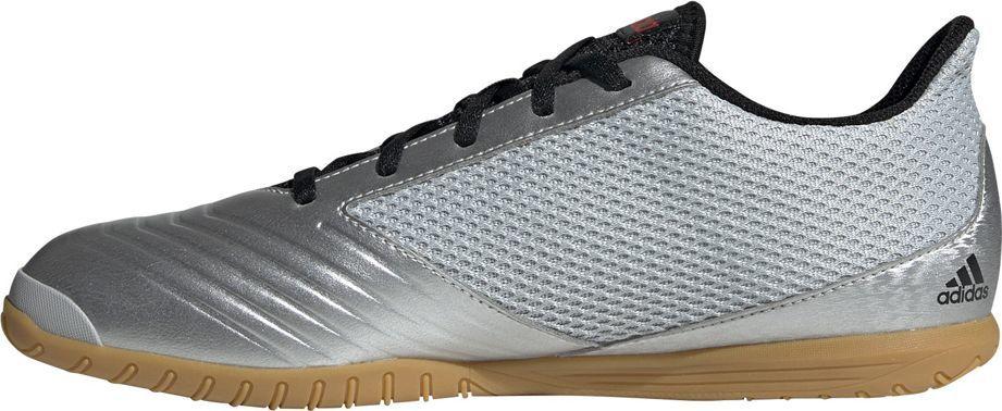 Adidas Buty piłkarskie adidas Predator 19.4 IN Sala srebrne F35630 42 1