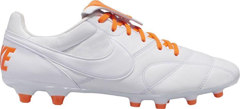 Nike Buty Nike The Premier II FG 917803 440 biało-pomarańczowe r. 40 1