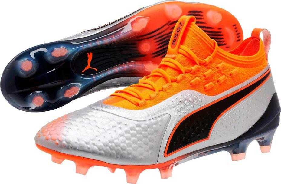 Puma Buty piłkarskie Puma One 1 Syn FG AG 104722 01 42 1
