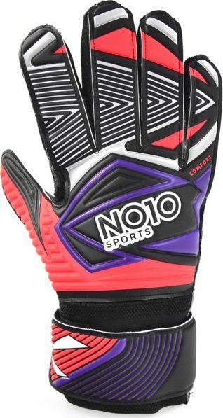 NO10 Rękawice bramkarskie NO10 Comfort red palm 5 1
