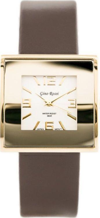 Zegarek Gino Rossi GINO ROSSI - KWADRATTO (zg515i) uniwersalny 1