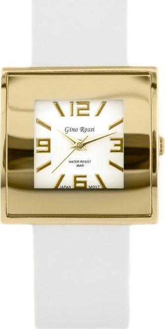 Zegarek Gino Rossi GINO ROSSI - KWADRATTO (zg515h) uniwersalny 1