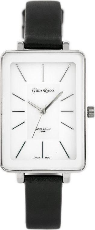 Zegarek Gino Rossi GINO ROSSI - COLIN (zg535b) white/silver/black uniwersalny 1