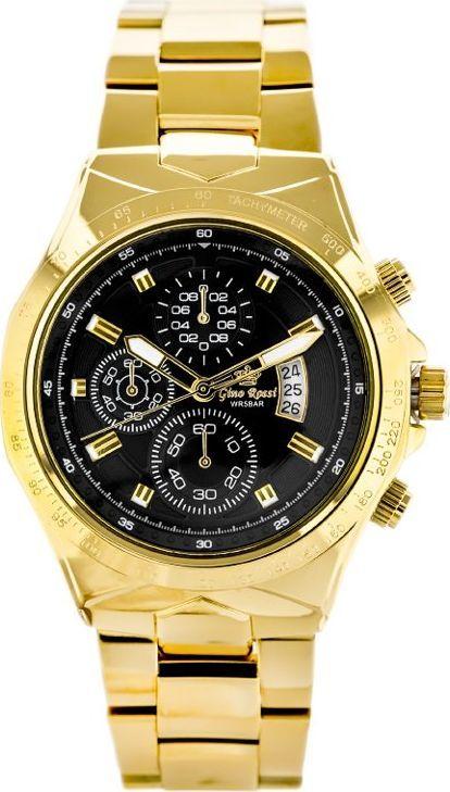 Zegarek Gino Rossi GINO ROSSI - KENT (zg099g) uniwersalny 1