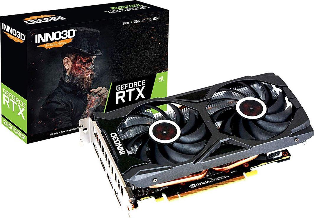 Karta graficzna Inno3D INNO3D GeForce RTX 2060 Super Twin X2 OC, 8192 MB GDDR6 1