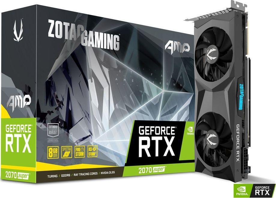 Karta graficzna Zotac GeForce RTX 2070 SUPER AMP 8GB GDDR6 (ZT-T20710D-10P) 1