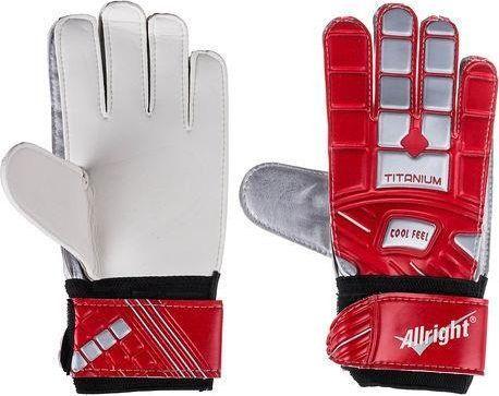 Allright Rękawice bramkarskie Allright Titanium 7 Red uniwersalny 1