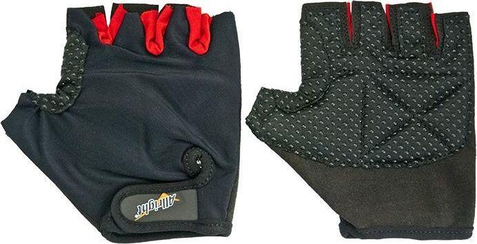 Allright Rękawiczki rowerowe sportowe Lycra rozmiar XL Czarne uniwersalny 1