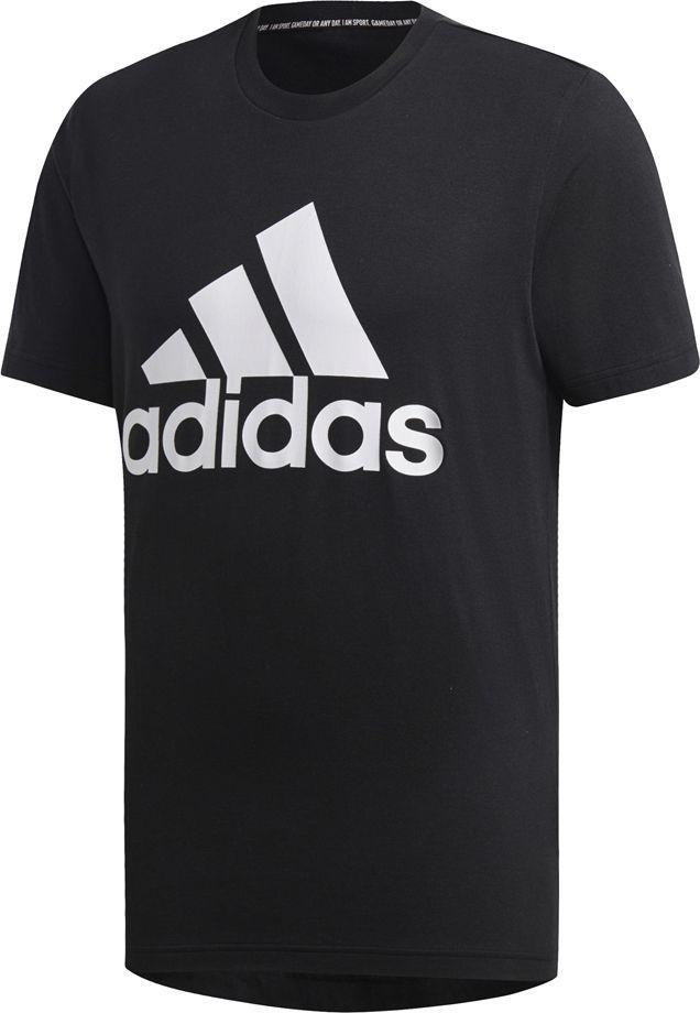 Adidas Koszulka męska MH BOS Tee czarna r. M (DT9933) ID produktu: 6130768