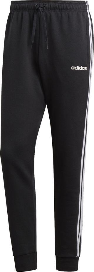 Adidas Spodnie męskie Essentials 3S Tapered Pant Fl czarne r. XL (DQ3095) 1