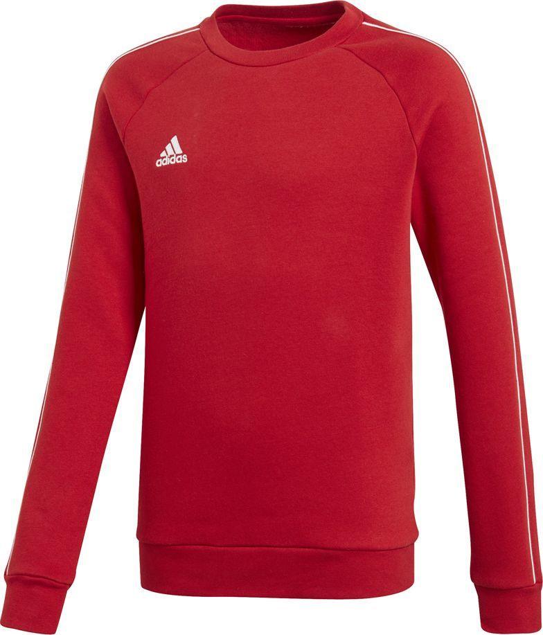Adidas Bluza dziecięca Core 18 Sw Top czerwona r. 116 (CV3970) 1