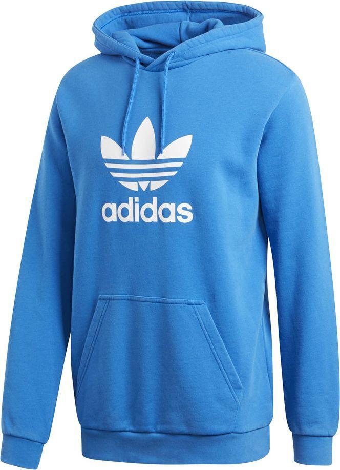 Adidas Bluza męska Trefoil Warm Up Hoody niebieska r. 2XL (DT7965) 1