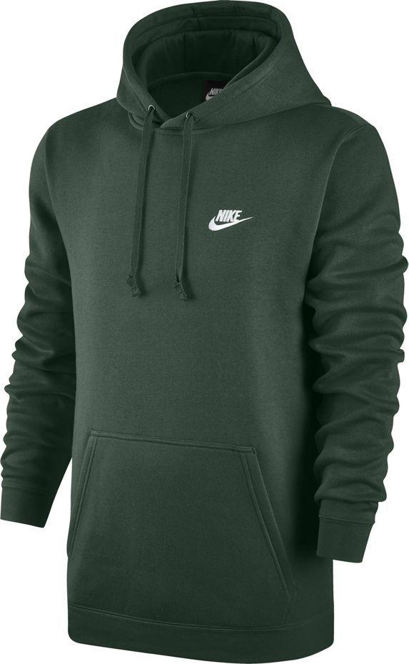 Nike Bluza męska M Nsw Hoodie Po Flc Club zielona r. 2XL (804346 323) 1