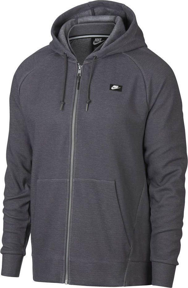 Nike Bluza męska Nsw Optic Hoodie Fz szara r. L (928475 021) 1