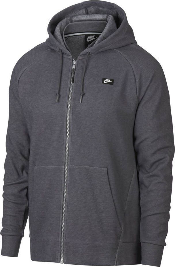 Nike Bluza męska Nsw Optic Hoodie Fz szara r. S (928475 021) 1