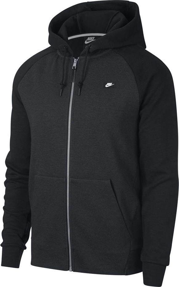 Nike Bluza męska Nsw Optic Hoodie Fz czarna r. S (928475 010) 1