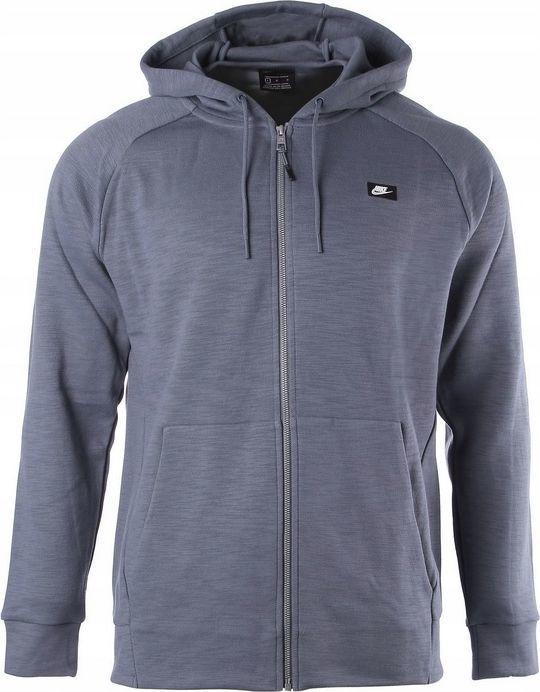 Nike Bluza męska Nsw Optic Hoodie Fz szara r. S (928475 427) 1