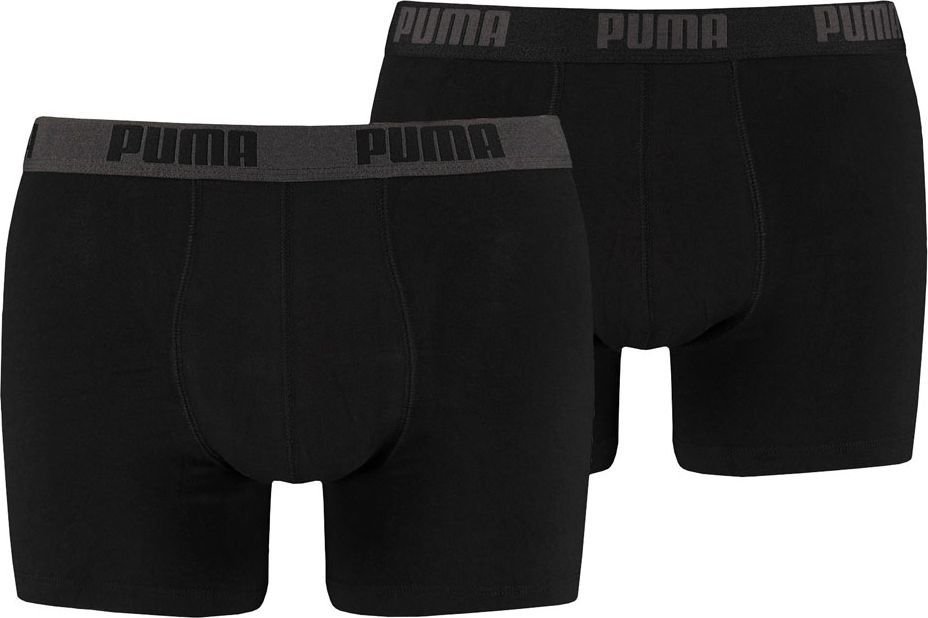 Puma Bokserki męskie Basic Boxer 2P czarne r. XL (521015001 230) 1