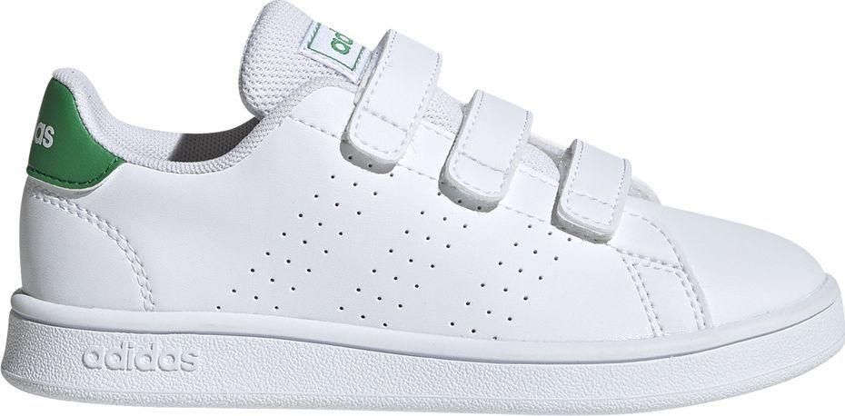Adidas Buty dla dzieci adidas Advantage C białe EF0223 35 ID produktu: 6131362